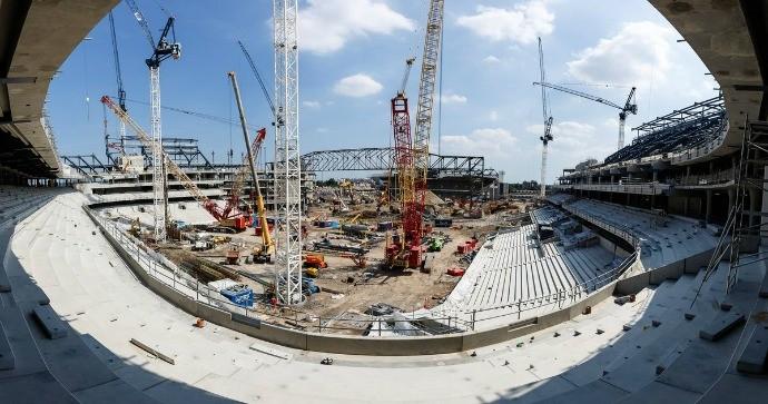 BLOG: Com White Hart Lane quase demolido, Tottenham divulga fotos do novo estádio
