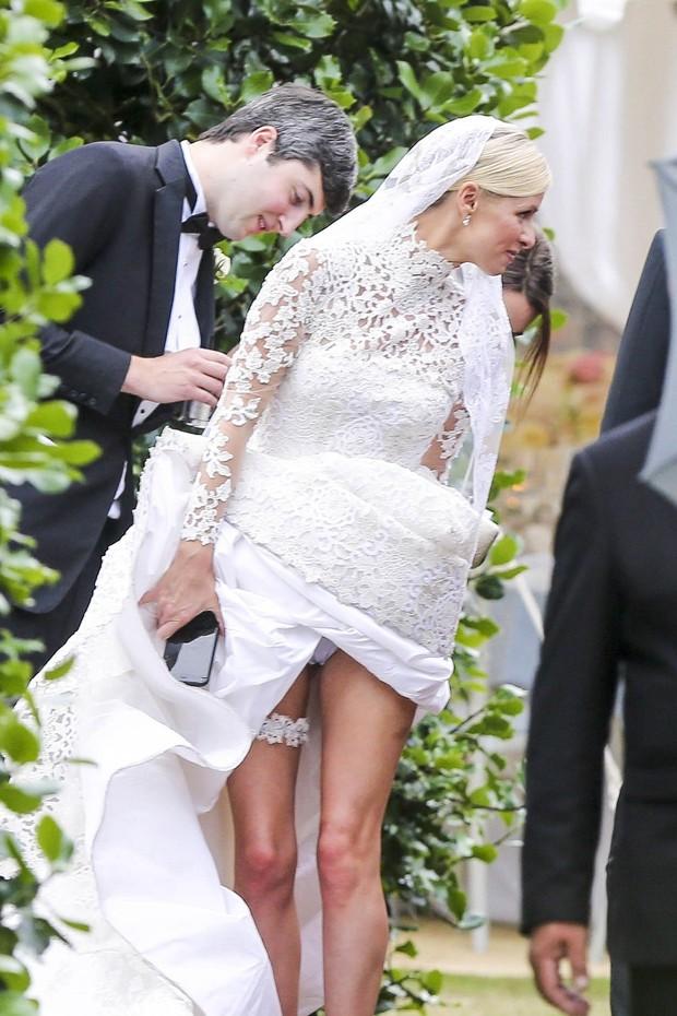 Nicky Hilton e James Rothschild se casam em Londres, na Inglaterra (Foto: Grosby Group/ Agência)