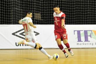 Concórdia x Sorocaba Futsal, LNF (Foto: Ricardo Artifon / ACF)