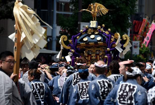 Japão, com expectativa de 83,7 anos; lidera (Foto: Tosdhifumi Kitamura/AFP)
