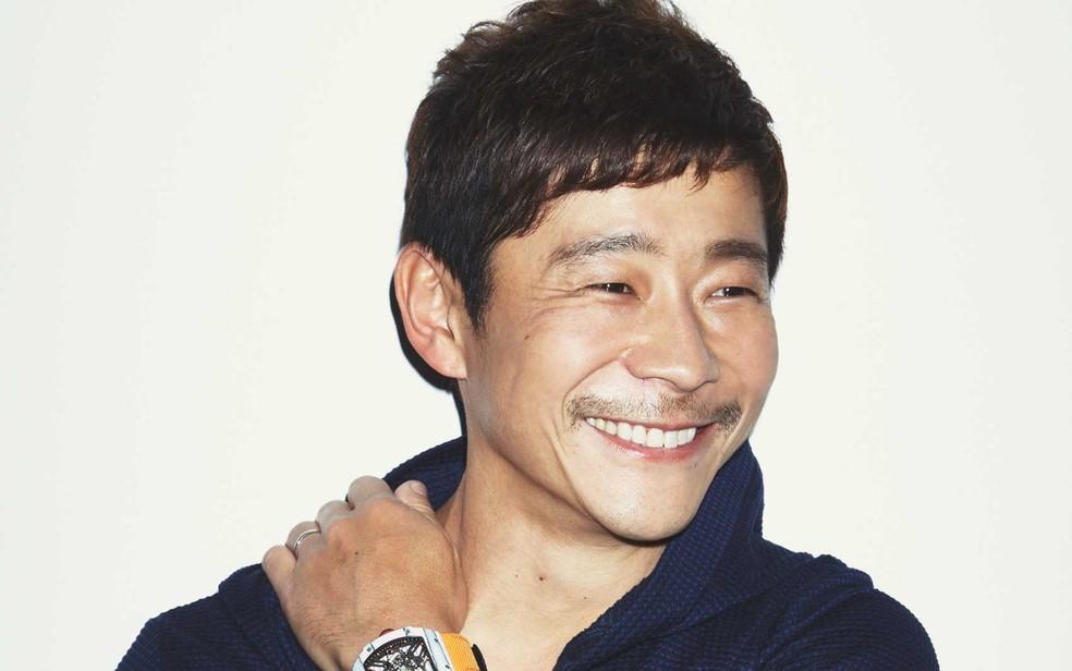 O empresário japonês Yusaku Maezawa desembolsou US$ 110,5 milhões (Foto: Yusaku Maezawa / via Sotheby's / via AP Photo)