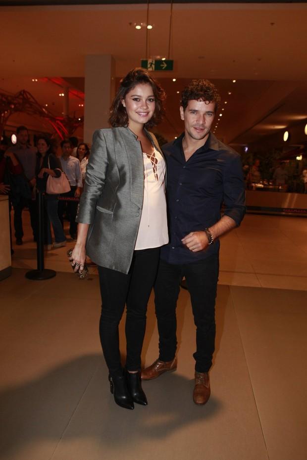 Sophie Charlotte e Daniel Oliveira (Foto: Isac Luz / EGO)