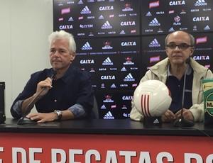 Godinho e Bandeira de Mello (Foto: Fred Gomes/ Globoesporte.com)