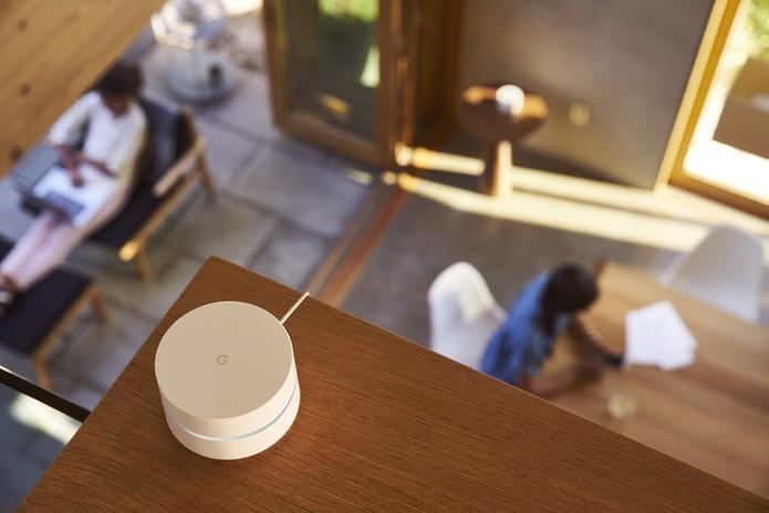 Google WiFi quer popularizar redes mesh dentro de casa (Foto: Divulgação/Google) (Foto: Google WiFi quer popularizar redes mesh dentro de casa (Foto: Divulgação/Google))
