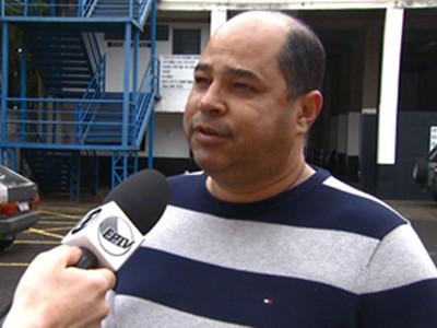 Jasiel Carvalho Diretor União Barbarense (Foto: Reprodução / EPTV)
