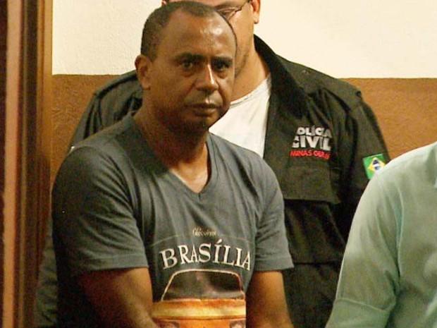 Matusalém Ferreira Júnior, suspeito de matar jovem e gêmeos (Foto: Valdinei Malaguti/EPTV)