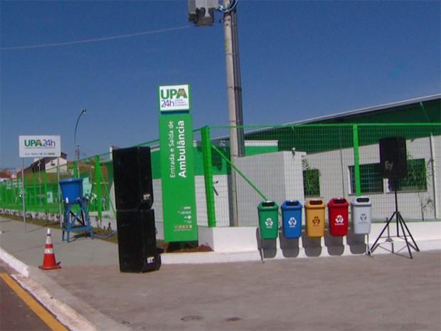 Unidade de Pronto Atendimento (UPA)  no Jardim Macarenko, em Sumaré (Foto: Reprodução EPTV)