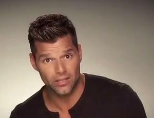 Ricky Martin fala sobre o concurso musical da Sony (Foto: Reprodução / Youtube)