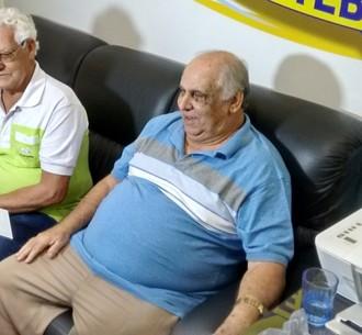 Claudinho, Ganjão e Mirinho, os fundadores do macaé (Foto: Tébaro Schmidt / GloboEsporte.com)