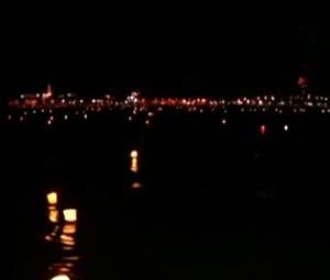 Este ano, 12 mil barcos coloridos devem ser soltos no rio Trombetas (Foto: Arquivo/TVTapajós)
