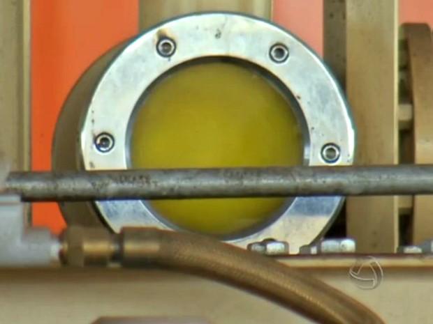 Produção de biodiesel (Foto: Reprodução/TVCA)