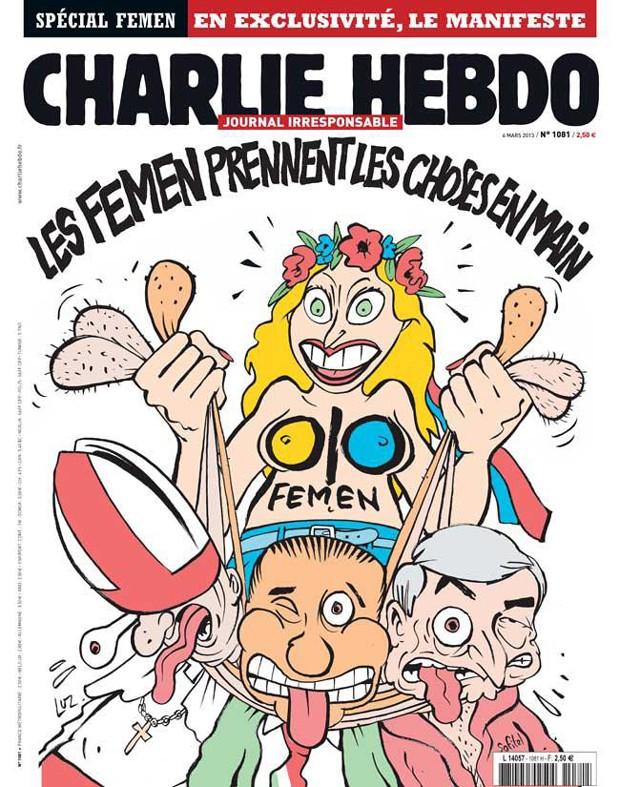 femen 620 (Foto: Reprodução/Facebook Charlie Hebdo)