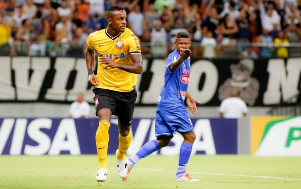 Cléber gol Corinthians (Foto: Rodrigo Coca / Ag. Estado)