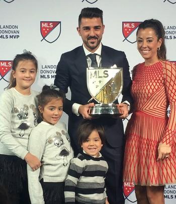 David Villa é eleito MVP da MLS 2016 (Foto: Divulgação/MLS)