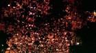 BH: milhares estão em frente à Prefeitura (Reprodução/TV Globo)