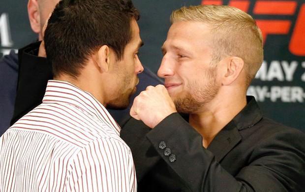 Renan Barão e Dillashaw UFC 173 (Foto: Getty Images)
