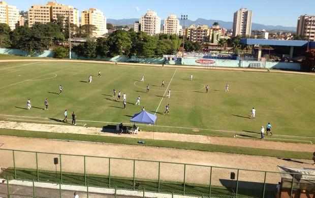 Resende vence líder do grupo A6, o Tupi-MG, no estádio do Trabalhador (Foto: Alessandra Pinheiro/TV Rio Sul)