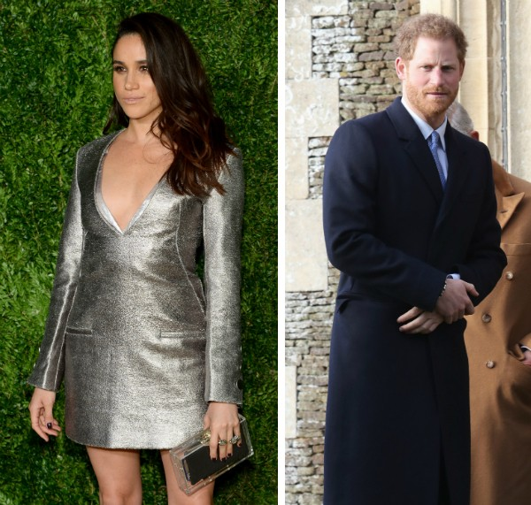 A atriz Meghan Markle e o Príncipe Harry (Foto: Getty Images)