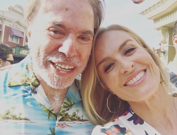 Silvio Santos e Angélica (Foto: Instagram / Reprodução)