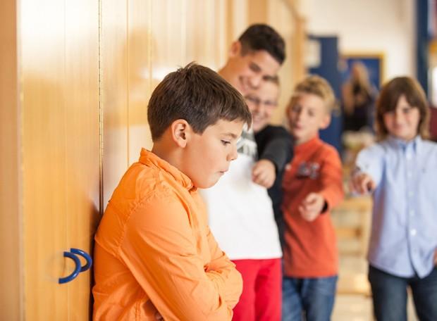 Criança sofrendo bullying (Foto: Thinkstock)