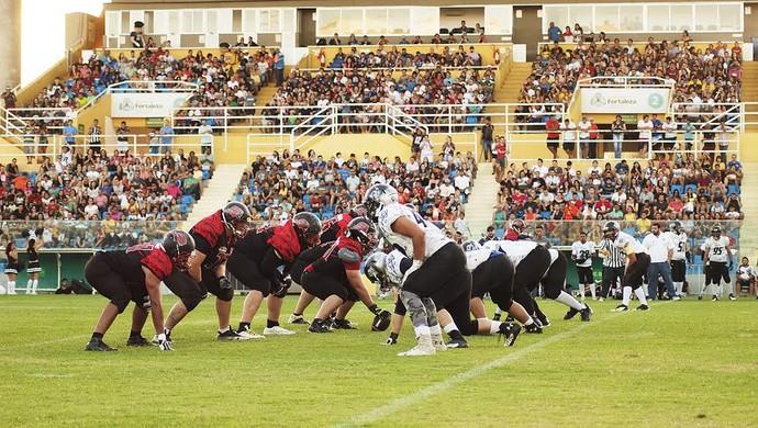 Ceará Caçadores, futebol americano (Foto: Divulgação/Ceará Caçadores)