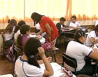 Alunos Televisando o futuro (Foto: Reprodução/ RPC TV)