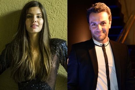 Camila Queiroz e Rodrigo Lombardi (Foto: Divulgação/TV Globo)