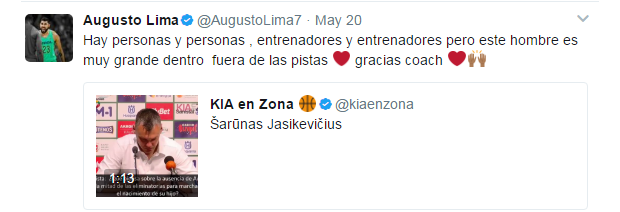 O twit de Augusto Lima (Foto: Reprodução/Twitter)