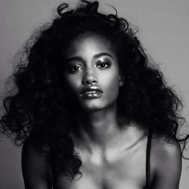 A modelo Melodie Monrose, da Martinica (Foto: Divulgação)