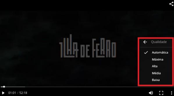 qualidade do vídeo (Foto: qualidade do vídeo)