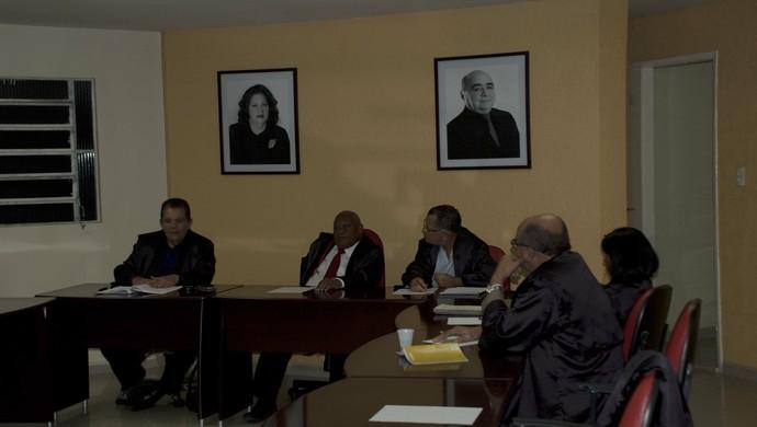 TJD/PB, julgamento (Foto: Pedro Alves / GloboEsporte.com/pb)
