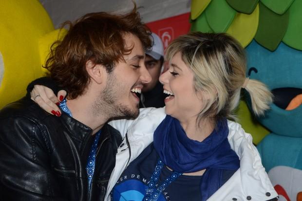 Christian Monassa e Julianne Trevisol  (Foto: Manuela Scarpa/Brazil News)