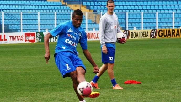 Pirão, lateral e volante do Avaí (Foto: Alceu Atherino, Divulgação / Avaí FC)