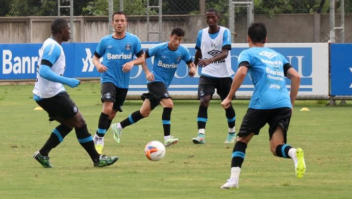 Treino do Grêmio no CT Luiz Carvalho (Foto: Eduado Deconto)