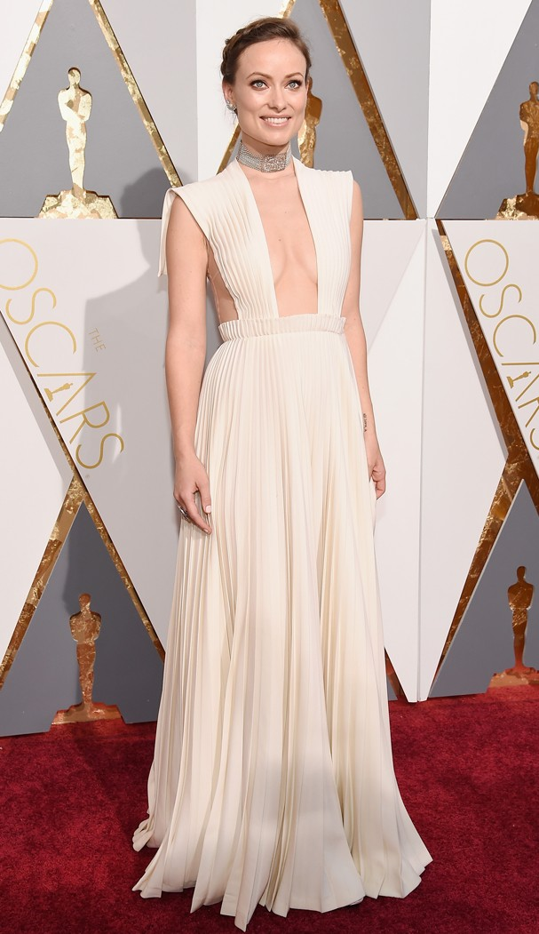 Olivia Wilde no Oscar 2016 (Foto: Getty Images)