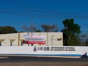 Universidade Estadual do Sudoeste da Bahia (UESB) (Foto: Reprodução/TV Globo)