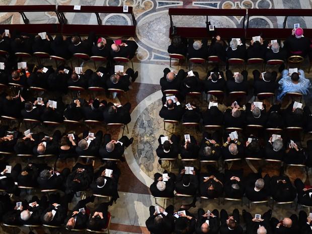 Em toda a Igreja Católica não se celebra missa nessa sexta-feira. É o único dia do ano em que isso não acontece (Foto: Gabriel Bouys/AFP)