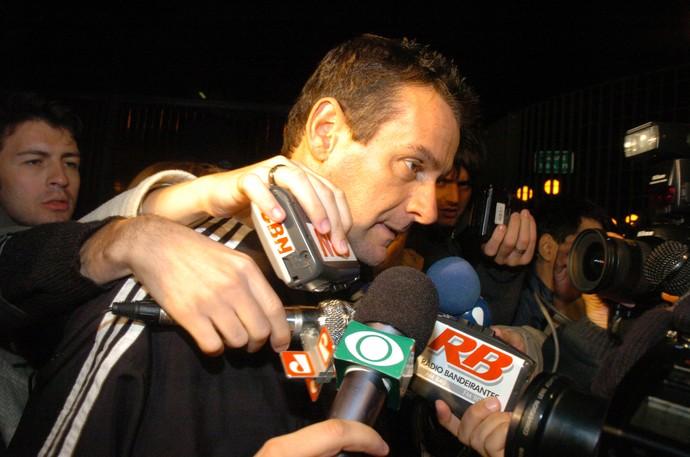 Edilson Pereira de Carvalho, em 29 de setembro de 2005 (Foto: Clayton de Souza / Agência Estado)