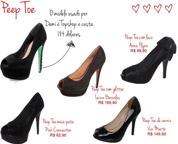 Peep Toe (Foto: Arte QUEM)