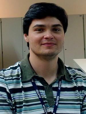 Fábio Tangerino é engenheiro eletricista na Alstom Grid (Foto: Arquivo pessoal)