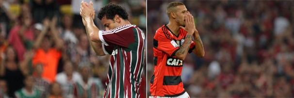 Fluminense e Flamengo se enfrentam neste domingo, dia 11, no Maracanã (Foto: globoesporte.com)