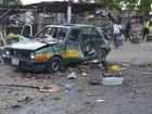 Grande explosão atinge estação de ônibus perto de mercado na Nigéria