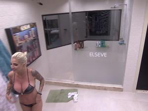 BBB às 06h07m do dia 19/01. (Foto: Big Brother Brasil)