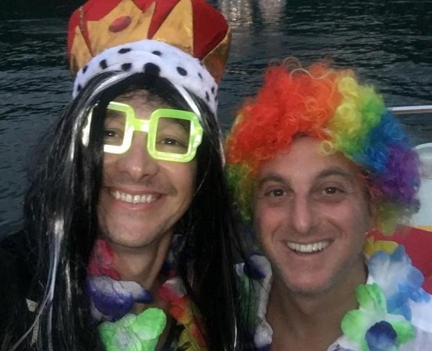 Rodrigo Faro e Luciano Huck (Foto: Reprodução/Instagram)