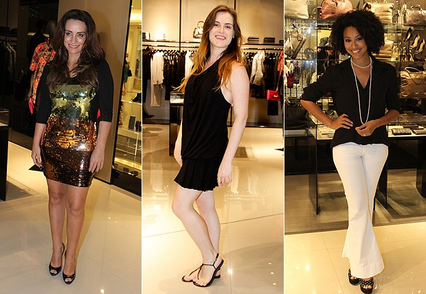 Suzana Pires, Alesandra Maestrini e Sheron Menezzes (Foto: Foto Rio News/ Marcello Sá Barretto )