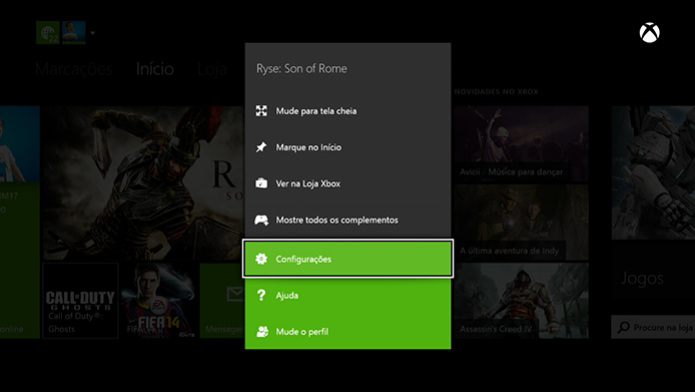Xbox One: como resetar as configurações de fábrica e limpar o HD do console (Foto: Reprodução / Murilo Molina)