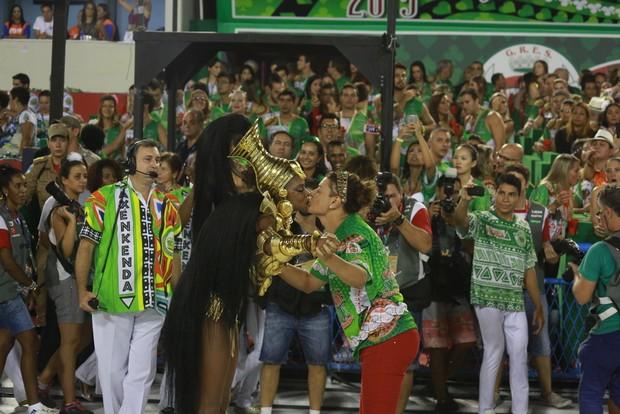 Cris Vianna e David Brazil (Foto: Thiago Mattos/ AgNews)