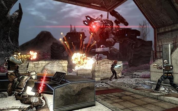Defiance, game de tiro online para Xbox 360 e PS3 (Foto: Divulgação)