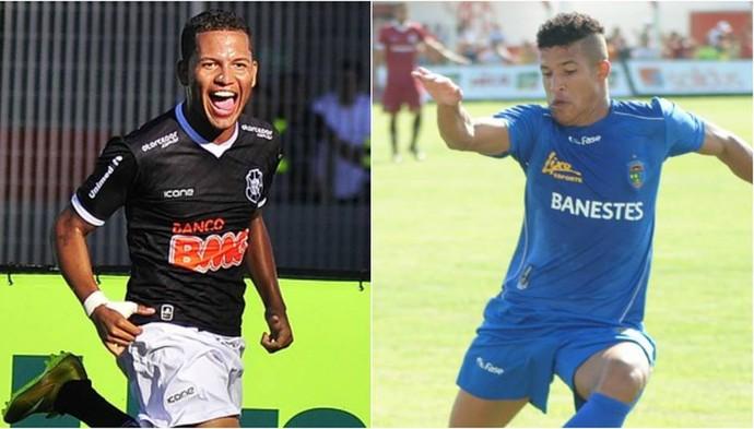 Carlos Vitor e Gugu, reforços do Rio Branco-ES para a temporada 2016 (Foto: Divulgação)
