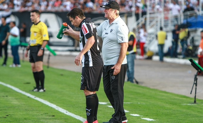 Leandro Donizete Levir Culpi Atlético-MG (Foto: Bruno Cantini \Atlético-MG)